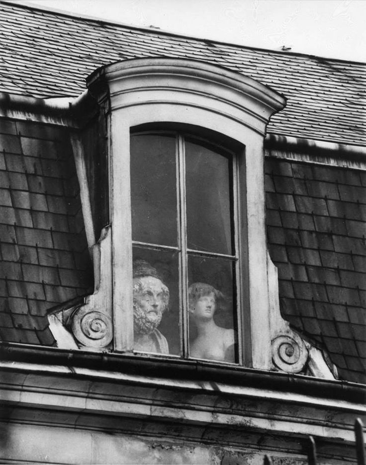 'A Window on the Quai Voltaire' by André Kertész. Paris, 1928. #Paris: