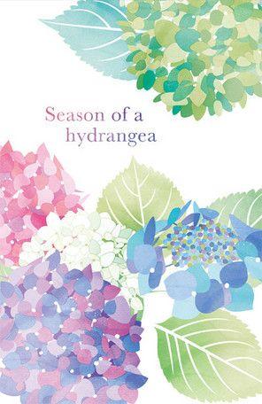 FLONTIA 2015 夏の便箋 紫陽花