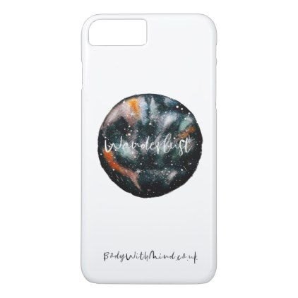 Wanderlust Watercolour iPhone Case  $39.10  by BodyWithMind  - cyo customize personalize diy idea