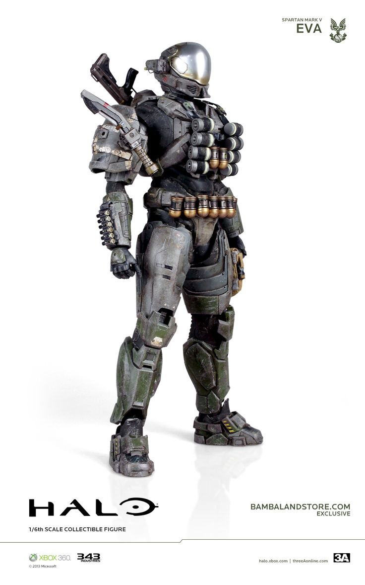 halo reach EVA Armor | New Images and Info For 3A Halo Reach Emile and EVA