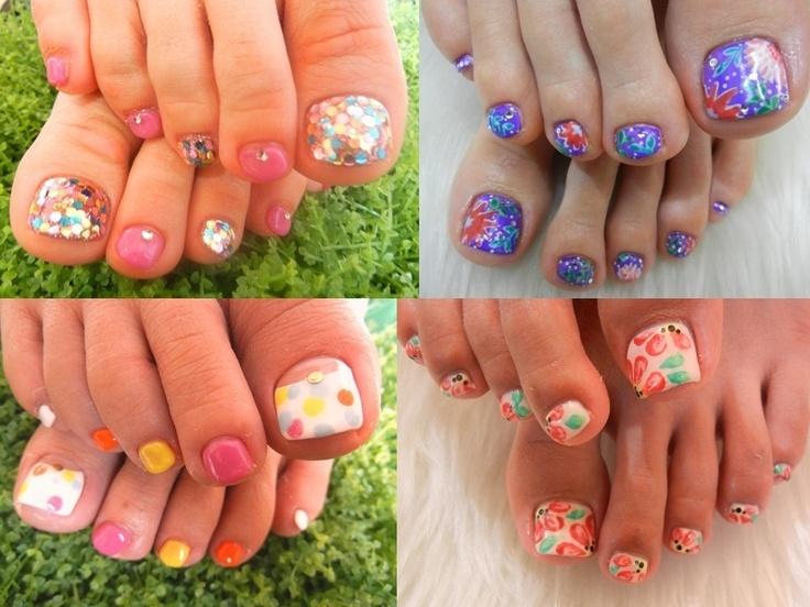 Toenail summer nails