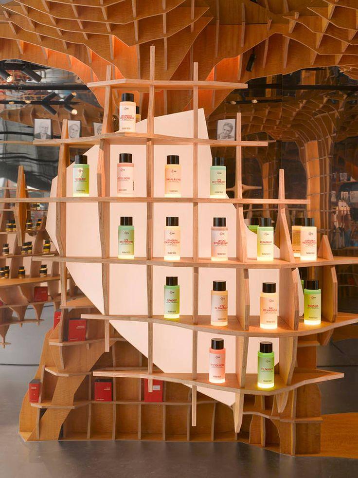 Incredible Interior Design Of A Parisian Perfume Store