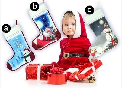 #Skarpetki_na_prezenty Oferta specjalna w sklepie Kasandra.   Świąteczne skarpetki na prezenty od Mikołaja.   Zakupując skarpetki możesz podarowac swojemu dziecku mnóstwo radości i uśmiechu.   Jest to niezawodny sposób na uśmiech twojego dziecka.      Rozmiar:  27 x 36 cm     W formularzu zamówienia prosimy o wybranie litery skarpetki.  kasandra.com.pl