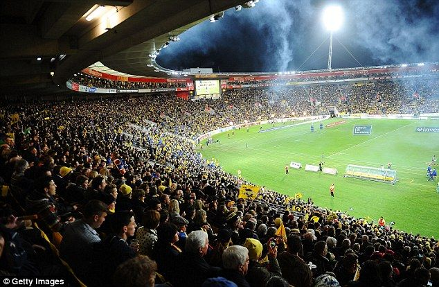 The Westpac Stadium in Wellington was packed out for the final of the 2015 Super Rugby