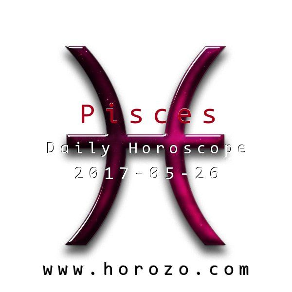 Pisces Daily horoscope for 2017-05-26: Debt may be a problem today: though it's not necessarily your debt that is making life weird. See if you can get your mate to address their issues, or find a way to get your business back in the black.. #dailyhoroscopes, #dailyhoroscope, #horoscope, #astrology, #dailyhoroscopepisces