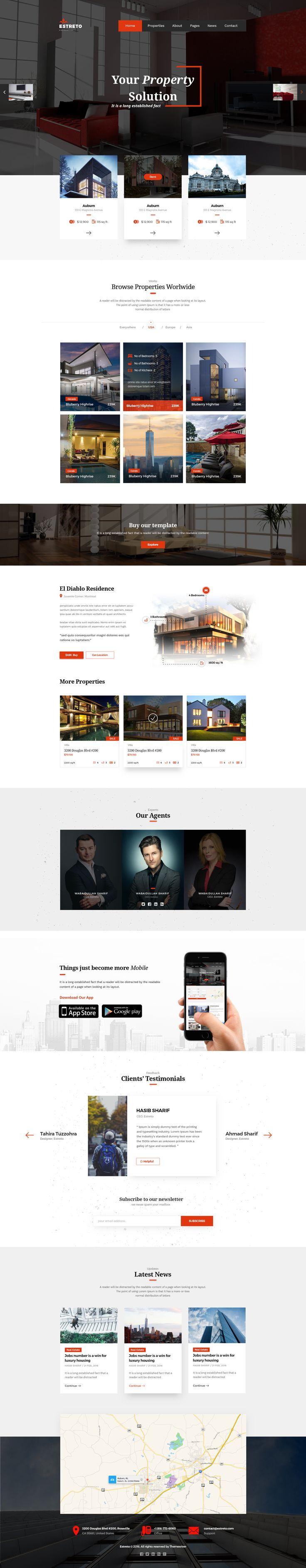 Estreto Real Estate Property Architecture u0026