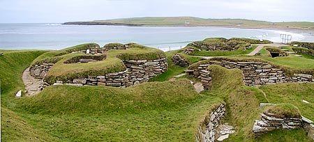 Skara Brae. Memorable trip to northern Scotland