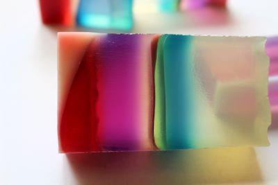 曇りの日の透明石けんと晴れの日の透明石けん 新潟 手作り石鹸の作り方教室 アロマセラピーのやさしい時間