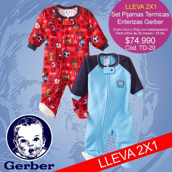 #Gerben, #set de #pijamas #termicas