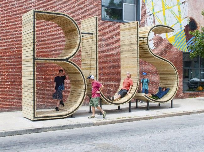 BUS stop in Baltimore » Design You Trust. Design, Culture & Society.