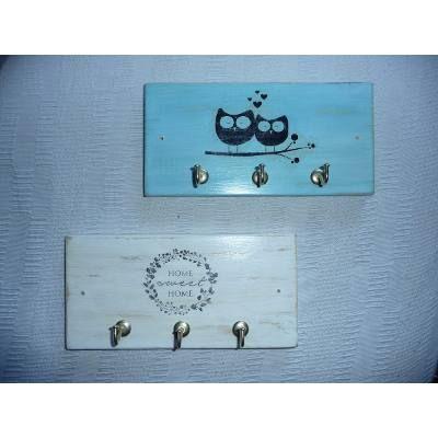 M s de 1000 ideas sobre ganchos para llaves en pinterest - Porta llaves pared ...