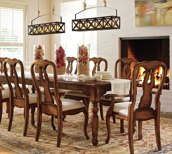 Eva Persian Style Rug Dining Table ChairsDining AreaKitchen DiningPottery Barn