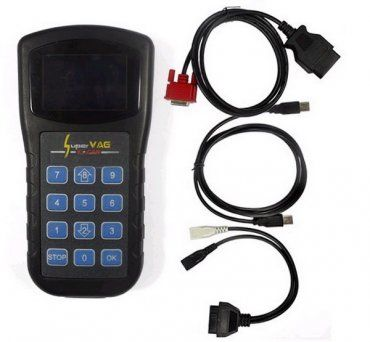 Super VAG K+CAN V4.8 can be used to odometer correction ,read Security Access Code, key programmer, airbag reset tool, TV Activation and diagnostic for VW Passat, VW, VW Bora, VW Polo, VW Golf, Audi A6, Audi A8, Audi A4, Skoda Superb, Skoda Octavia, Skoda Fabia vehicles.