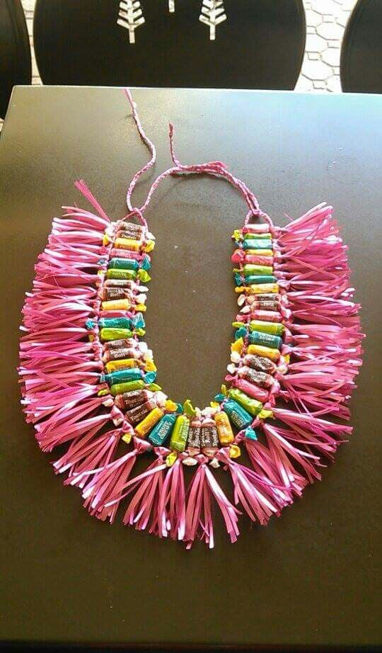 Candy Lei (hawaiian luau necklace)