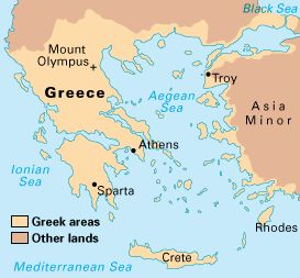 Best Maps Of Greece Images On Pinterest Ancient Greece - Greek and rome map