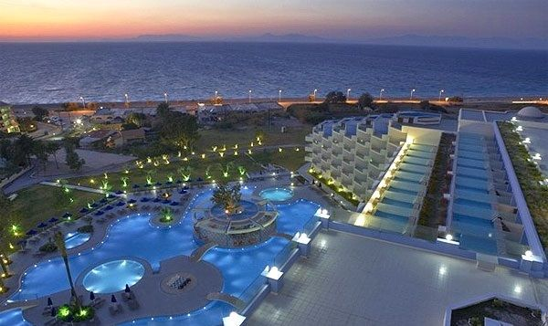 Atrium platinum luxury resort spa in ixia rhodes