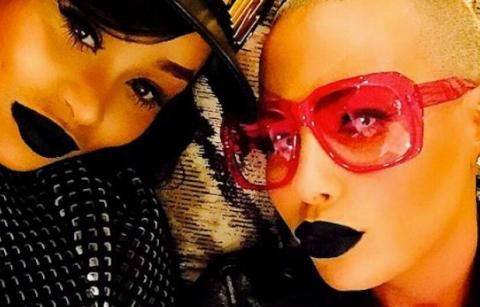 Amber Rose & Blac Chyna Share Loving Messages on IG
