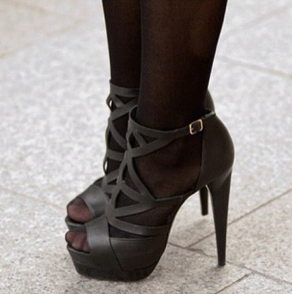 30 Best Black Tights And Nude Heels Images On Pinterest -9969