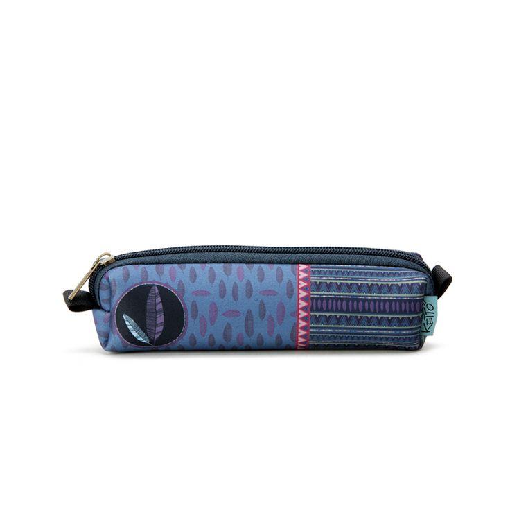 Mini Pochette Lea KETTO Mini Pouch Lea // Pochette à fermeture éclair. // Pouch with zipper closure. // #MiniPochette #MiniPouch #Ketto