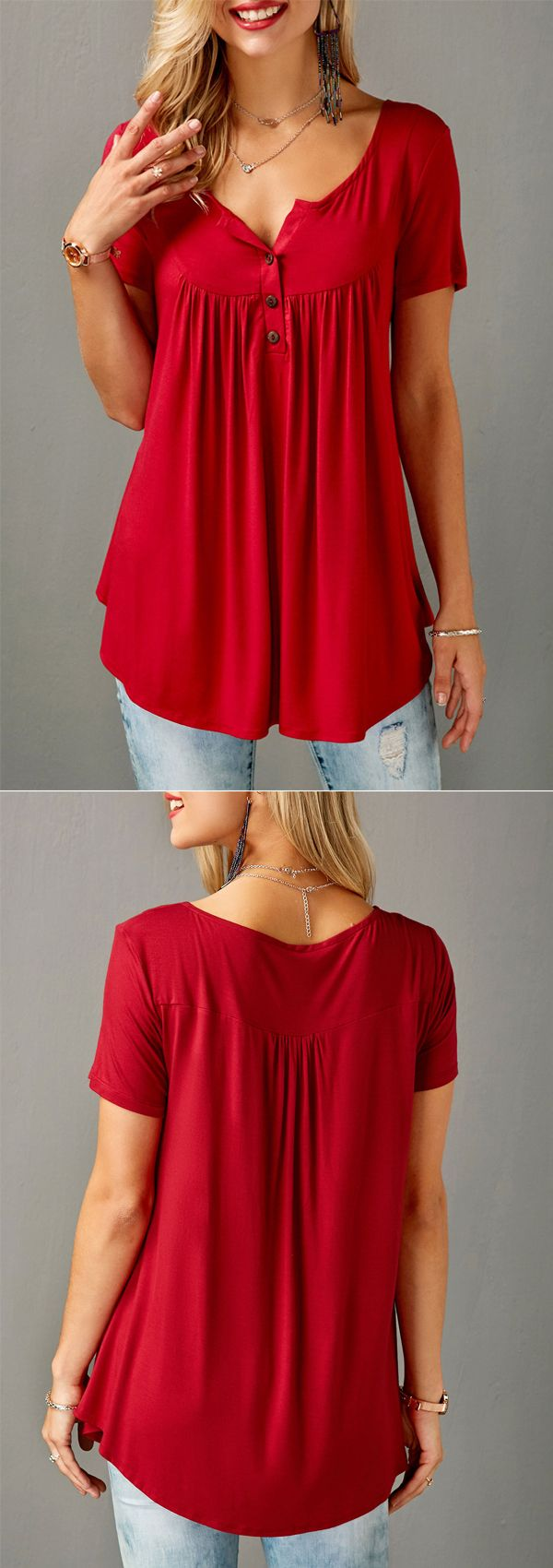 Another flowy top!