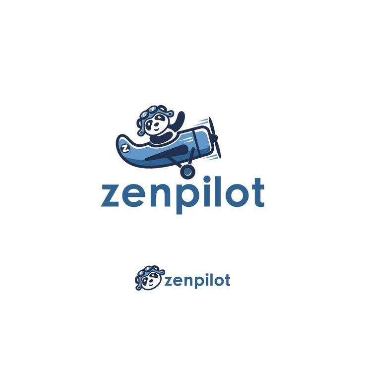 Designs | Playful and Calming Logo + Mascot for ZenPilot (Project Management Software) | Logo design contest