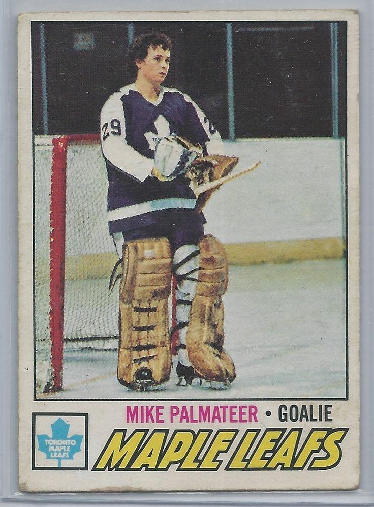 1977-78 OPC Mike Palmateer RC Toronto Maple Leafs # 211 EX #TorontoMapleLeafs
