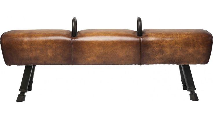 Banc en cuir Gym Gabby Kare Design