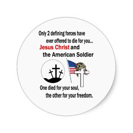 Jesus Christ and the American Soldier 2nd Version Classic