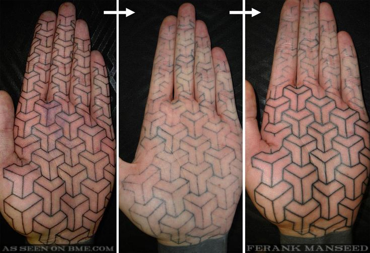 Palm Tattoo Healing | BME: Tattoo, Piercing and Body Modification News
