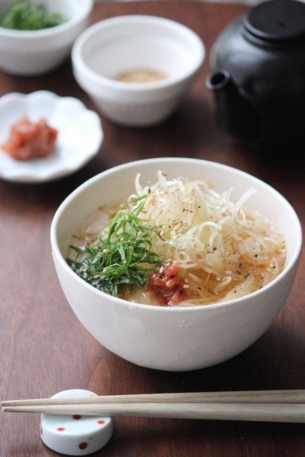 香味ネギのせ梅そうめん。 by 栁川かおり | レシピサイト「Nadia | ナディア」プロの料理を無料で検索