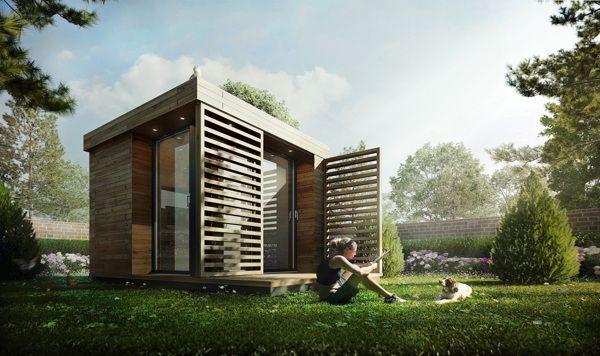 Garden Office by Sérgio Merêces, via Behance