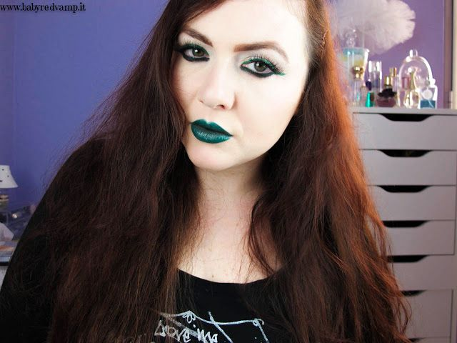 Babyredvamp Makeup: Face Of The Day - Deep With Envy