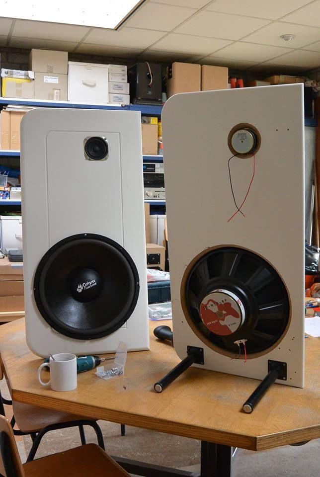 Extreme DIY loudspeaker building. | Open baffle speakers ...