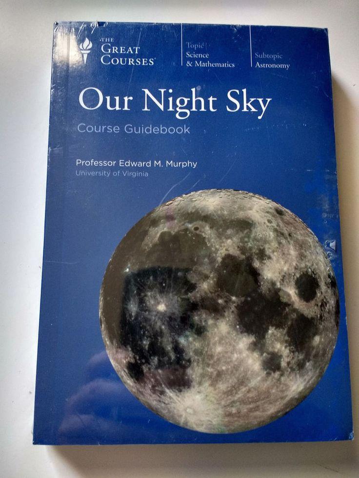 Our Night Sky Course Guidebook & 2-DVD Set Prof. Edward M. Murphy New/Sealed #TextbookBundleKit