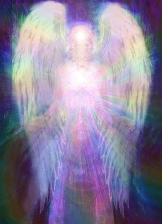 "Rainbow Angel. Repinned by An Angel's Touch, LLC, d/b/a WCF Commercial Green Cleaning Co. ""Denver's Property Cleaning Specialists"" http://www.angelsgreencleaning.net"