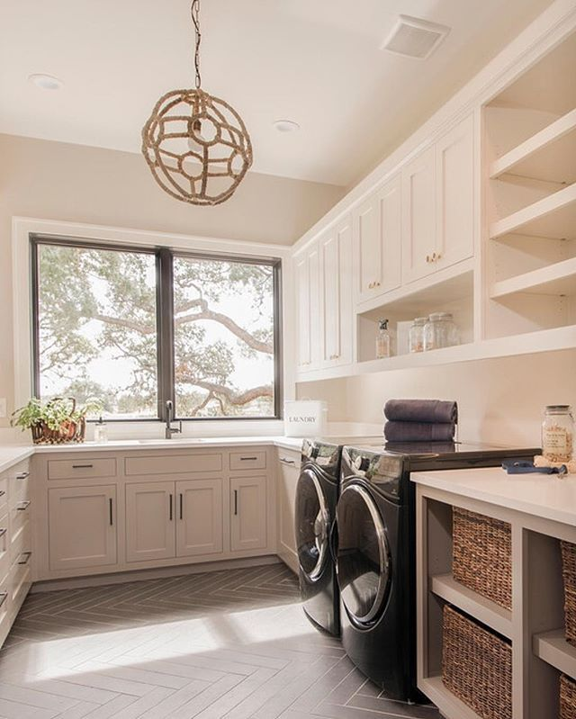 WEBSTA @ the_real_houses_of_ig - Who's planning on doing laundry this weekend? Here is some inspiration to get you started! | by Arbogast Custom Homes |