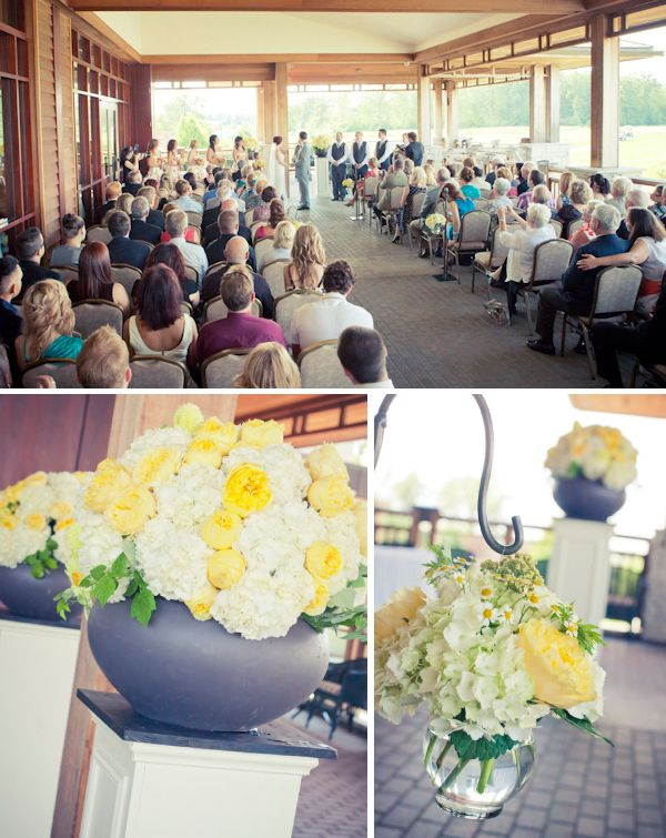 Legends on the Niagara - outdoor wedding ceremony collage