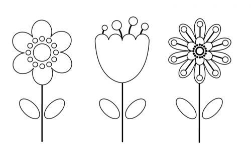 Malvorlagen Blumenwiese Zum Ausdrucken in 2020 Blumen
