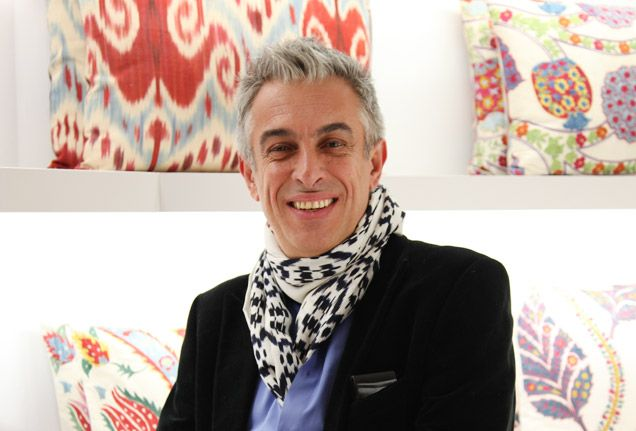 Yastik designer Rifat Özbek creates limited-edition cushions inspired by destinations and cultures around the globe.