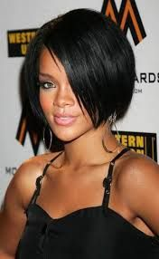 edgy short black hairstyles - Google Search
