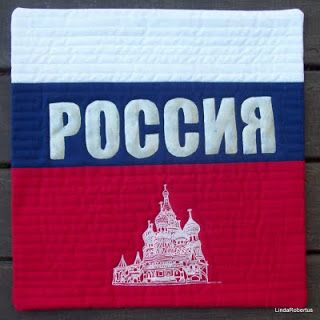 Russia - art quilt