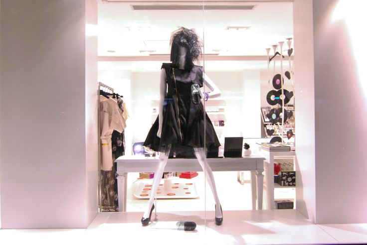 A/W 10/11 Sport Negru - Window Display for The Place Concept Store; styling by Răzvan Firea & 109