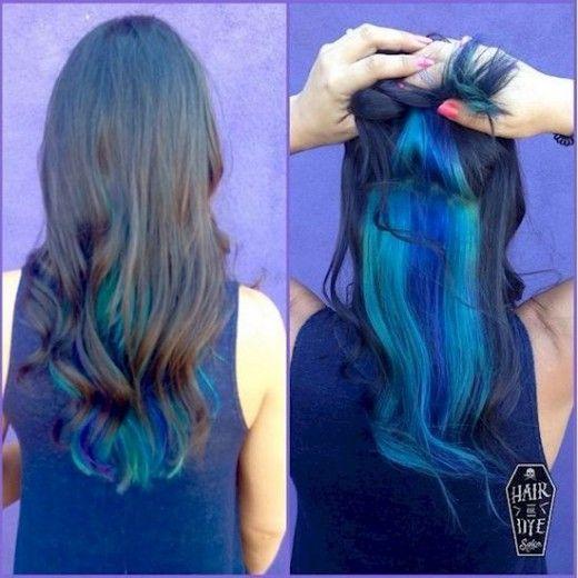 Hair DIY: Fünf Ideen für blaues Haar und wie man sie zu Hause macht