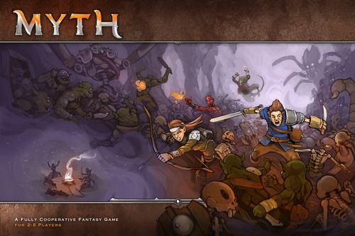 Myth, core Game, 6.7 BGG rating. Best with 4 Players.