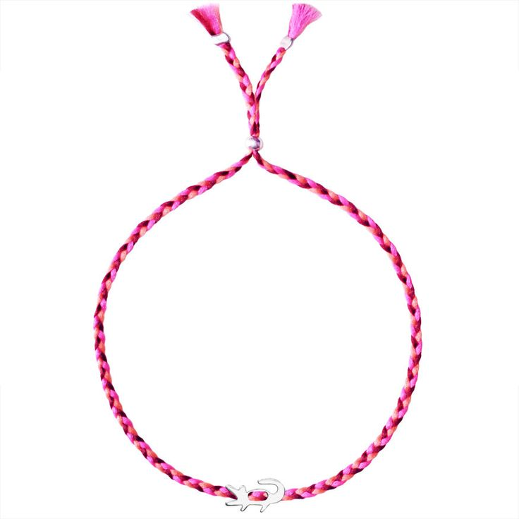 No.119 Crocodile Charm - Sorbet Bracelets