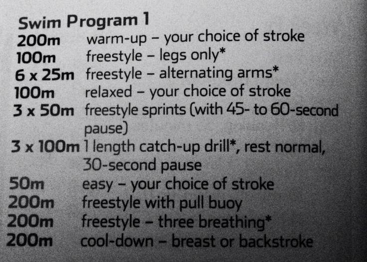 swim program 1