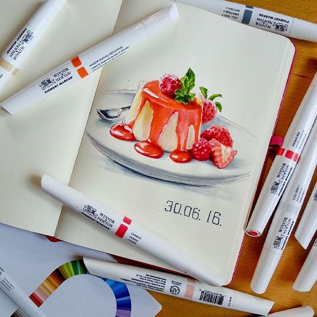 Sketchbook. Winsor & Newton Marker.  Hallo liebe Freunde,  ich dürfte gestern superschöne Pigment Marker von Winsor & Newton ausprobieren und ich bin begeistert! Vielen Dank an @pigmentmarker! #colouryourcity #winsorandnewton  Привет друзья! Какие замечательные маркеры от Winsor & Newton @pigmentmarker! Я в диком восторге! А вы рисуете маркерами? А какие Вам нравятся больше всего?  #Dresden #arts_help #topcreator #Skizze #drawing #sketch #sketchbook #акварель #Aquarellmalerei #watercolor…