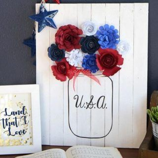 20 Easy DIY Patriotic Crafts for 4th of July