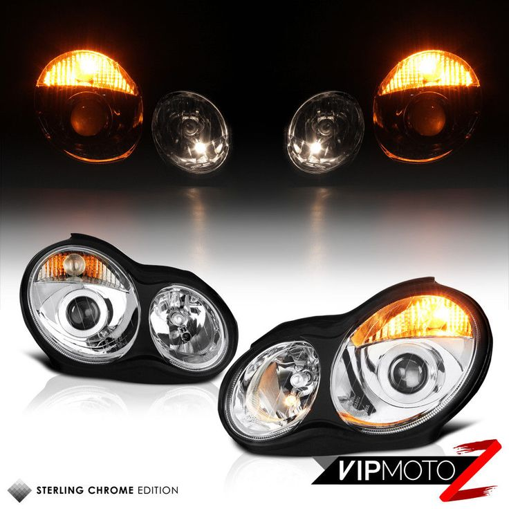 Awesome Great 2001-2007 Mercedes Benz W203 C320 C32 AMG C230  Projector Headlights 2017 2018