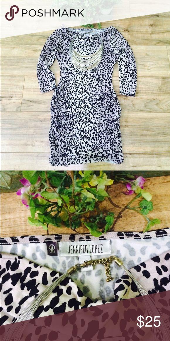 Jennifer López Dress Animal print Dress 🐆 Jennifer Lopez Dresses Midi